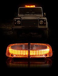 Vehicle Roof Top Emergency Hazard Warning Strobe Light Lamp 240 LED Yellow