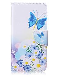 Fingermuster PU-Leder Material Flip-Karte für Samsung Galaxy Note 5/4/3