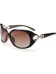mujeres 's Polarizada / 100% los rayos UVA y UVB De Gran Tamaño Gafas de Sol