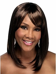 Extensions  Women Lady Bang Of Bob Wave Wigs Secondary Color  Syntheic Wig