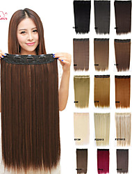 Smilco Hair Clip In Straight Hair Clip In Hair Extensions Clip In Synthetic Hair Extensions
