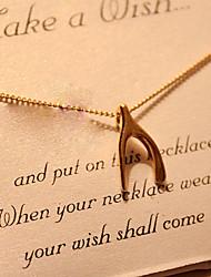 Женский Ожерелья с подвесками Сплав Крестообразной формы 2 # 3 # 4 # 5 # 6 # Бижутерия Свадьба Для вечеринок Повседневные 1шт