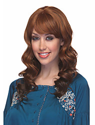 Beautiful Bang Of Loose Wave Wig Sale To Eurepean  Syntheic  Hair Wigs Extesions Popular