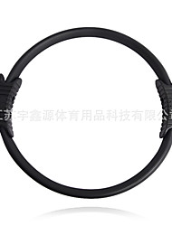 Exercise Hoop Black Plastics