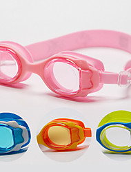 Made In China Gafas de natación Niños Anti vaho / Impermeable / Tamaño Ajustable Acetato Acrílico Azul / Anaranjado / Amarillo / Rosado