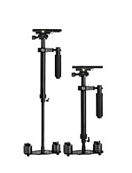 YELANGU® 60cm Handheld Stabilizer, Camera Stabilizer Steadicam for Camcorder Video DV DSLR Camera (Black)