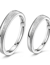 parejas helado 925 anillos de plata (un par de anillos de venta) PROMIS para parejas