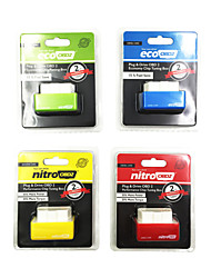 NitroOBD2 Diesel Red /EcoOBD2 Benzine Green /NitroOBD2 Diesel Red/ NitroOBD2 Benzine Yellow  Chip Tuning Box