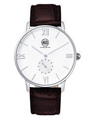 AIBI® Men's Fashion Watch Water Resistant/Water Proof White Dark Coffee Gift Watch For Men Wrist Watch Cool Dress Watch Unique Watch With Watch Box