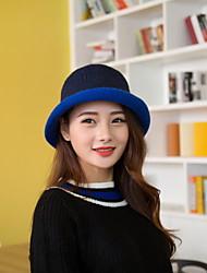 Women Cute Wool Acrylic Skullies Hats LD00050