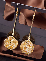 Top Quality European Style Ball Shape Drop Earrings for Wedding Party