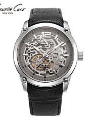 moda masculina relógios relógio mecânico wut oco
