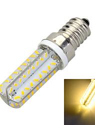 6W E14 Ampoules Maïs LED B 72 SMD 3014 400-500 lm Blanc Chaud / Blanc Froid Décorative AC 100-240 V 1 pièce