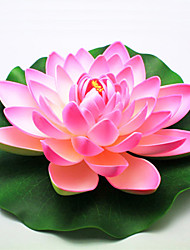 Household Adornment Flowers PEV Plastic Lotus Artificial Flowers