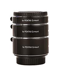 Kooka kk-pq47 extensiotubes latón af para series Pentax Q sin espejo (10mm, 16mm, 21mm) cámaras
