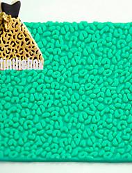 Пятно леопарда печать текстура зерно печать выпечка DIY силикон шоколад сахар торт плесень цвет случайный