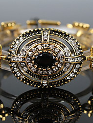 National Totem Palace Retro Rhinestone Bracelet
