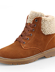 Women's Shoes Leather / Suede Platform Platform / Snow Boots / Fashion Boots / Bootie / Creepers Boots Outdoor