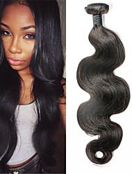 """envío rápido malasio virginal 3pcs onda del cuerpo del pelo / lot sin procesar crudos malasia pelo ondulado 8 """"-30"""""""