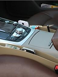 boîte multi-fonction créneau de voiture rangement latéral (couleur aléatoire 2 pièces de jeu)