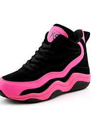 Scarpe Donna - Sneakers alla moda - Tempo libero / Formale / Casual - Comoda / Punta arrotondata - Piatto - Finta pelle - Rosa / Bianco