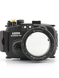 meikon 40m wasserdichtes Kameragehäuse für Sony A6000 (16-50 mm)