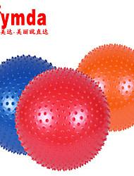 65cm Fitness Ball PVC Red / Blue / Orange Unisex Ymda