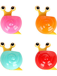 Multifunctional Cartoon Cute Snail Wall Powerful Cupule Multipurpose Storage Box (random colors)