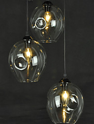 Pendant Lights Mini Style Modern/Contemporary Living Room / Bedroom / Dining Room  / Kids Room / Hallway Glass