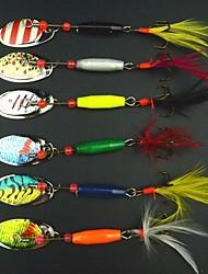 Anmuka Metal Bait / Hard Bait / Jigs 7.8 g 6 pcs Sea Fishing / Jigging Fishing / Boat Fishing Sequins Suit