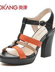 Aokang® Women's Leather Sandals - 132811032