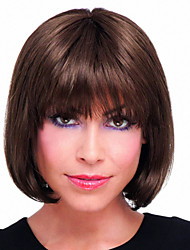 New Fashion Bob Wig Hand Tied Top Human Virgin Remy Female Capless Hair Wigs