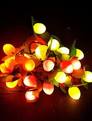 3m 28LED 220v die Christbaumschmuck leuchtet Lampe gesetzt Frucht Frucht-Leuchten LED-Lampe