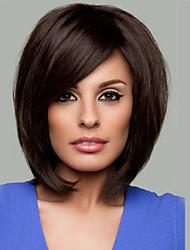 synthétique couleur noire perruques de cheveux de qualité supérieure de qualité