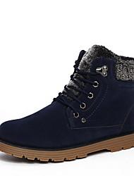 Men's Shoes Casual Boots Black / Blue / Brown