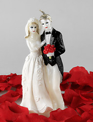 The Bride And Groom Large Candle Candles Holiday Modern/Contemporary / Romantic Wedding