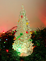 Colorful Acrylic Tree a Night Light Creative Energy Saving Led Lights Christmas Lights Change Color Lights