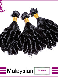 3шт / много Малайзии девственные волосы fummi необработанные Малайзии девственной волос Бразильские волосы пучки