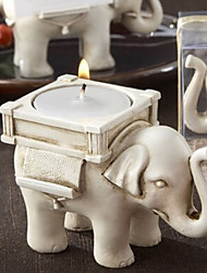 Retro European Elephant Candle