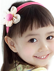 Girl's Little Flower Satin Headband