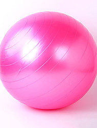 55cm Fitness Ball PVC Yellow / Red / Pink / Gray / Blue / Purple Unisex Also Kang