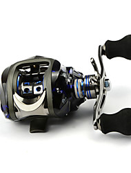 DMK SC120RC-X1 12 Bearing Bait Casting Fishing Reel Gear Ratio 6.3:1 Max Drag 5kg Right Handle Centrifugal Brake