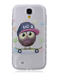 Pour Samsung Galaxy Coque Motif Coque Coque Arrière Coque Chouette TPU SamsungS6 edge plus / S6 edge / S6 / S5 Mini / S5 / S4 Mini / S4 /