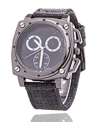 Xu™ Men's Fashionable Outdoor Leisure Sports Cloth Tape Quartz Watch
