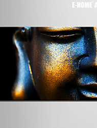 E-HOME® Stretched Canvas Art Buddha Decoration Painting  One Pcs