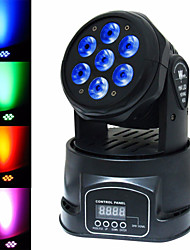LT - 1 RGBW 7 × 15W  Auto / Voice / DMX512 Moving Head LED Stage Light