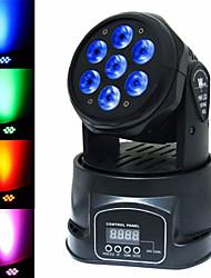 lt - 1 RGBW 7 × 15w auto / voz / cabeça movendo dmx512 levou luz palco