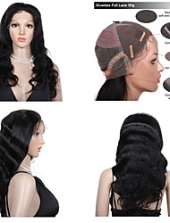 Premierwigs New 8A 8''-26'' Body Wave Brazilian Virgin Glueless Full Lace Human Hair Wigs Glueless Lace Front Wigs