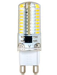 G9 6w 72 smd 3014 500-550 lm caldo bianca / fresca bianca decorativa luci bicolore ac 220-240 v