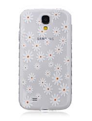 Pour Samsung Galaxy Coque Transparente Motif Coque Coque Arrière Coque Fleur PUT pour SamsungS6 edge plus S6 edge S6 S5 Mini S5 S4 Mini